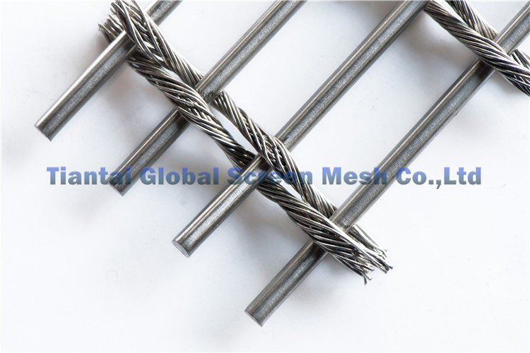 Stainless Steel Woven Decorative Wire Mesh