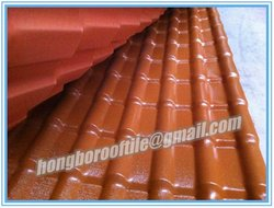 Heat insulation and colorful Royal Style roofing tile