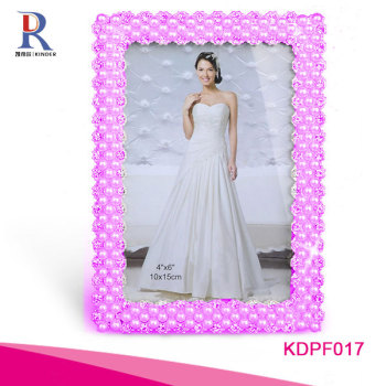 rhinestone beautiful girl sex photo frames beautiful flower photo frame beautiful photo frame picture album KDPF098