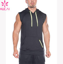 Custom hoodies wholesale gym sleeveless hoodie/hoodies of fitness workout gym sports wear