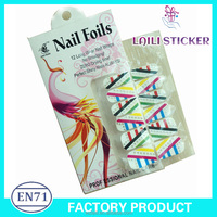 3D nail sticker ,/nail polish sticker