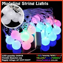 4m/20leds Little Hockey style outdoor LED fairy lights