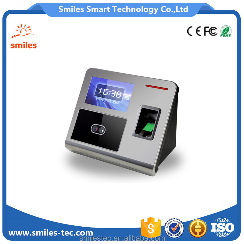 Biometric Security Face and Fingerprint Recognition Identifier For Office time attendance system