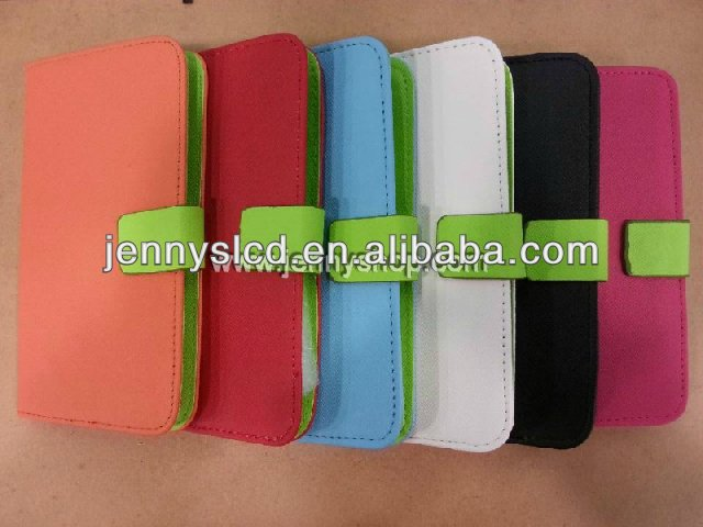 Hot selling Mobile Phone leather case for iphone