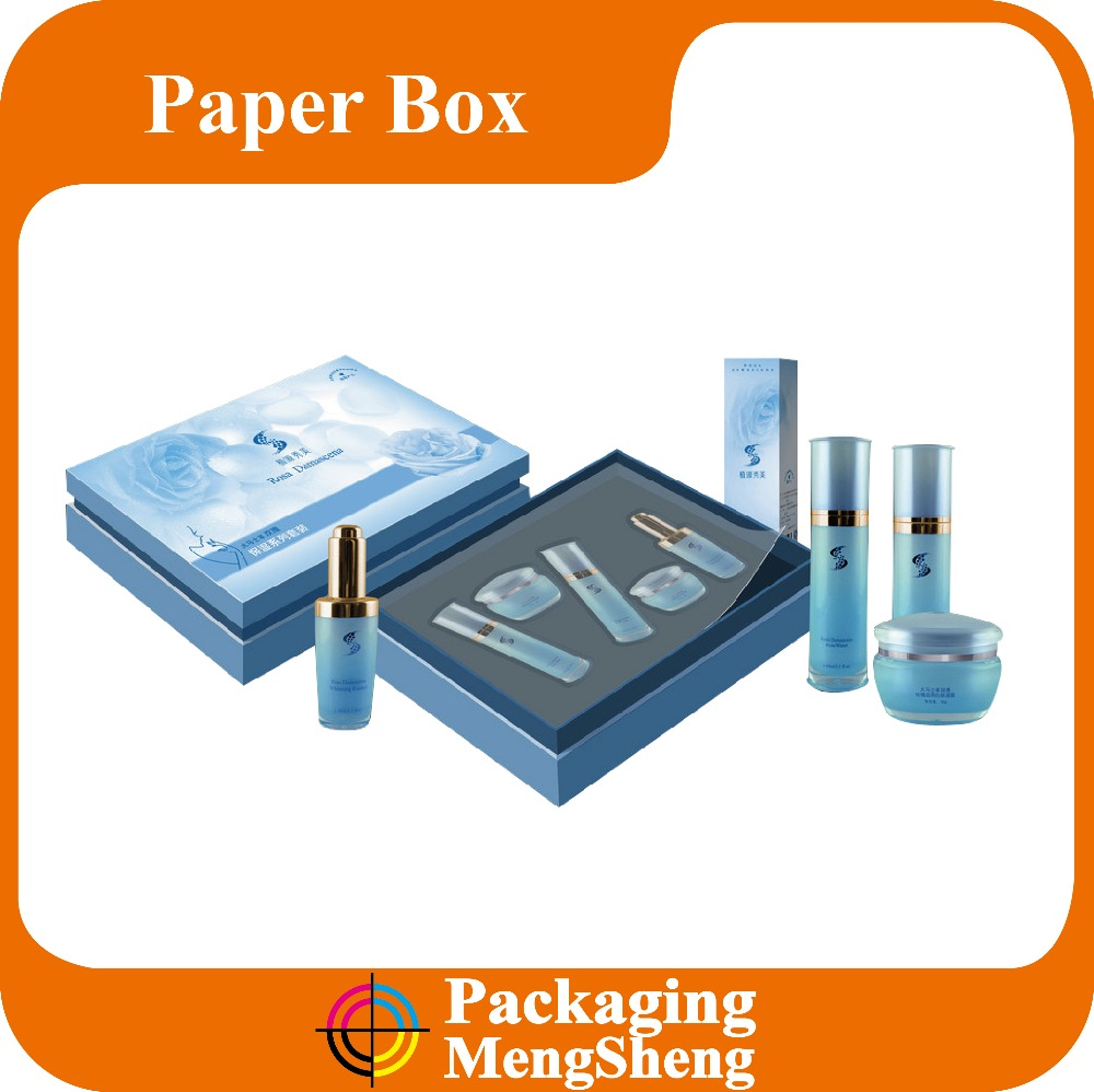 Distributing New Premium Custom Fashion Make Up Skincare Packaging Storage Paper Box, Cosmetic Paper Box With Foam