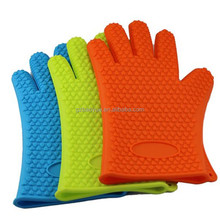 silicone heat resistant waterproof gloves microwave heated gloves
