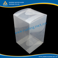 clear recycled PET case ,luxury box packaging