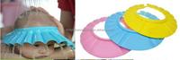 Soft Adjustable Baby Wash Hair Shield Hat Kids Shampoo Bath Bathing Hat Children Shower Cap