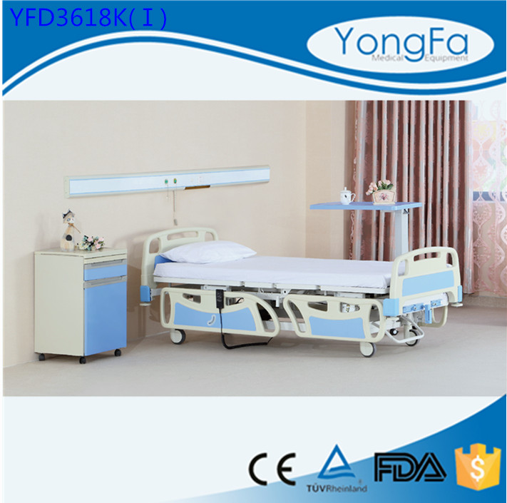 YFD Three Function Medical Electric Hospital Beds for the elderly