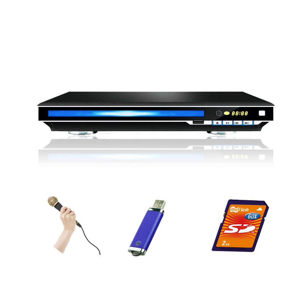 225mm Smallest size DVD player ultra slim DVD player