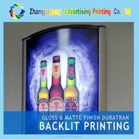 China manufacture Poster light box,advertising film box,PET banner