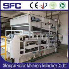 slude dewatering machine for electronic factory sewage treatment