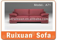 Leather/fabric modern Sofa A71/office furniture sale