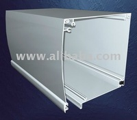 Roller Shutter Box Curved Line for doors and windows