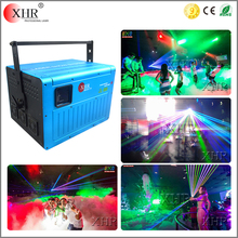 8watt 10watt Stage effect wide beam rgb ilda laser light animation laser light