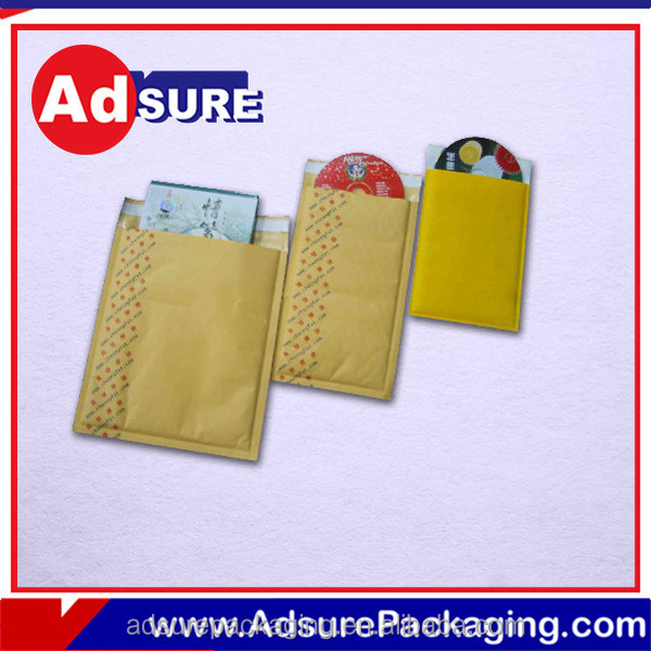 Plastic wholesale bubble mailers padded envelopes gold envelopes for wholesales
