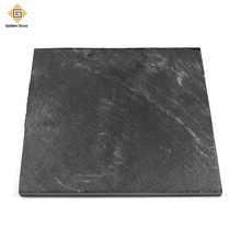 Chinese supply 150x300mm black man-made slate tiles