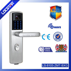 network biometric door lock with touch keypad