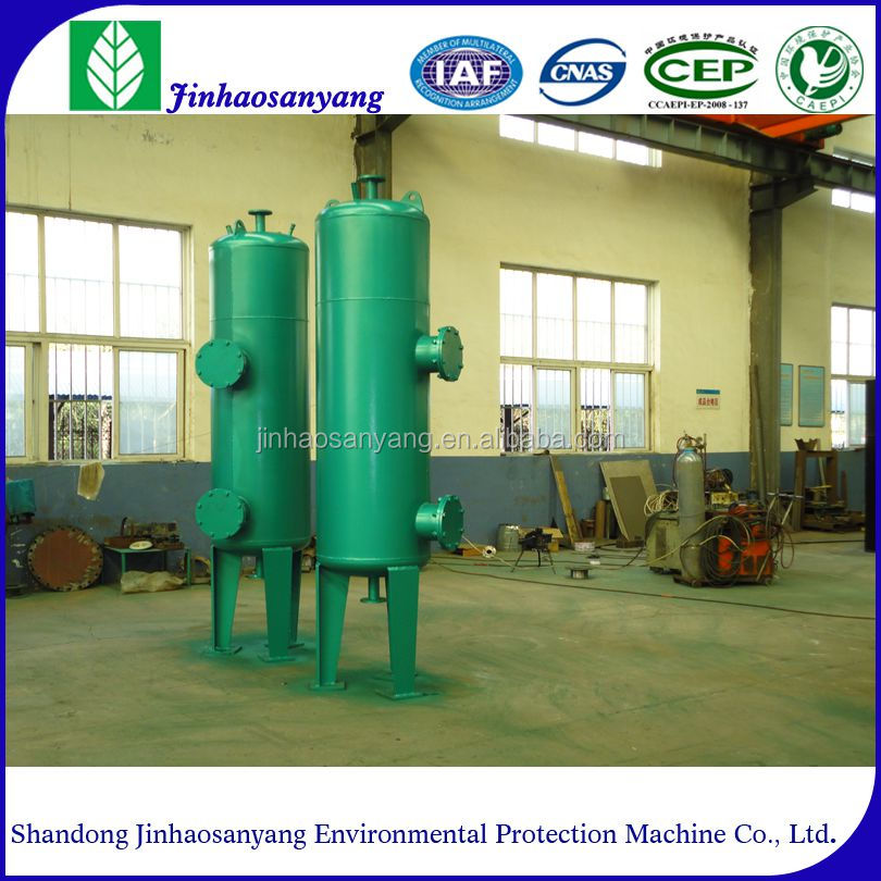 Waste water purification plant - - - -mechanical water filter device
