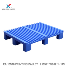 Skids euro smooth hdpebest selling mixed large load hdpe pallets L1050* W760* H175mm