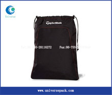 Drawstring Black Personalized Bag Nylon With Logo Painted Hot Selling Goods Export