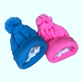 winter knit toboggan hats beanie wool knit beanie knitted hat