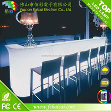 American home lighting bar glowing illuminated led light cafe bar counter design