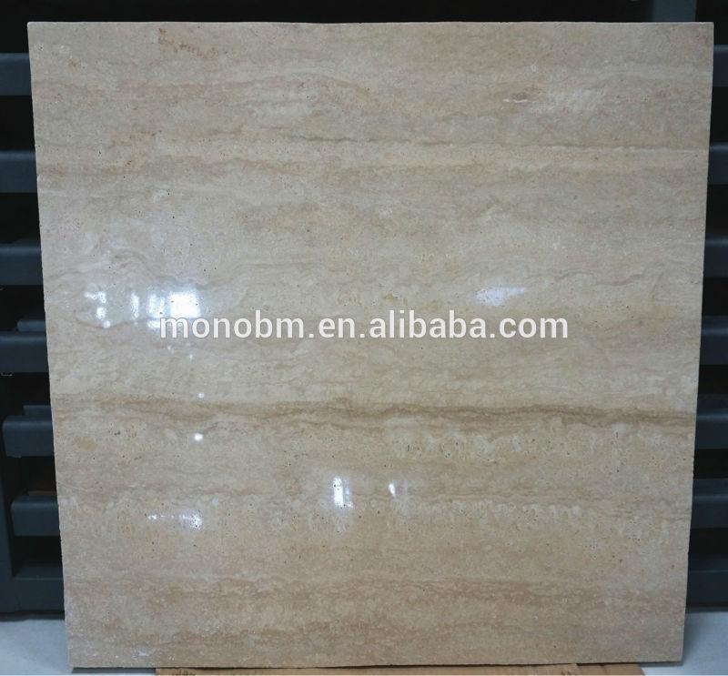 Romana de m rmol travertino ingenier a suelo de m rmol for Tipos de marmol travertino