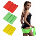 natural latex stretch training resistance band  1.5m length  15cm width  0.5mm thickness thera band