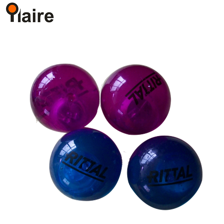 2017 new custom bouncing balls with flashing light