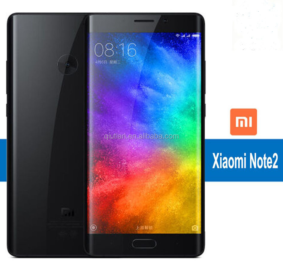 "Original Xiaomi Mi Note 2 Mobile Snapdragon 821 Quad Core 5.7"" 1920x1080 Smartphone 6GB+128GB red mi note 4g mobile phone oppo"