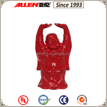 Stable Quality Top-Ranking Ceramic Decor Red Buddha