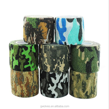 Telescopic nonwovens outdoor hunting camouflage riding tape