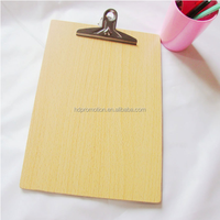 cheap custom wood clipboard