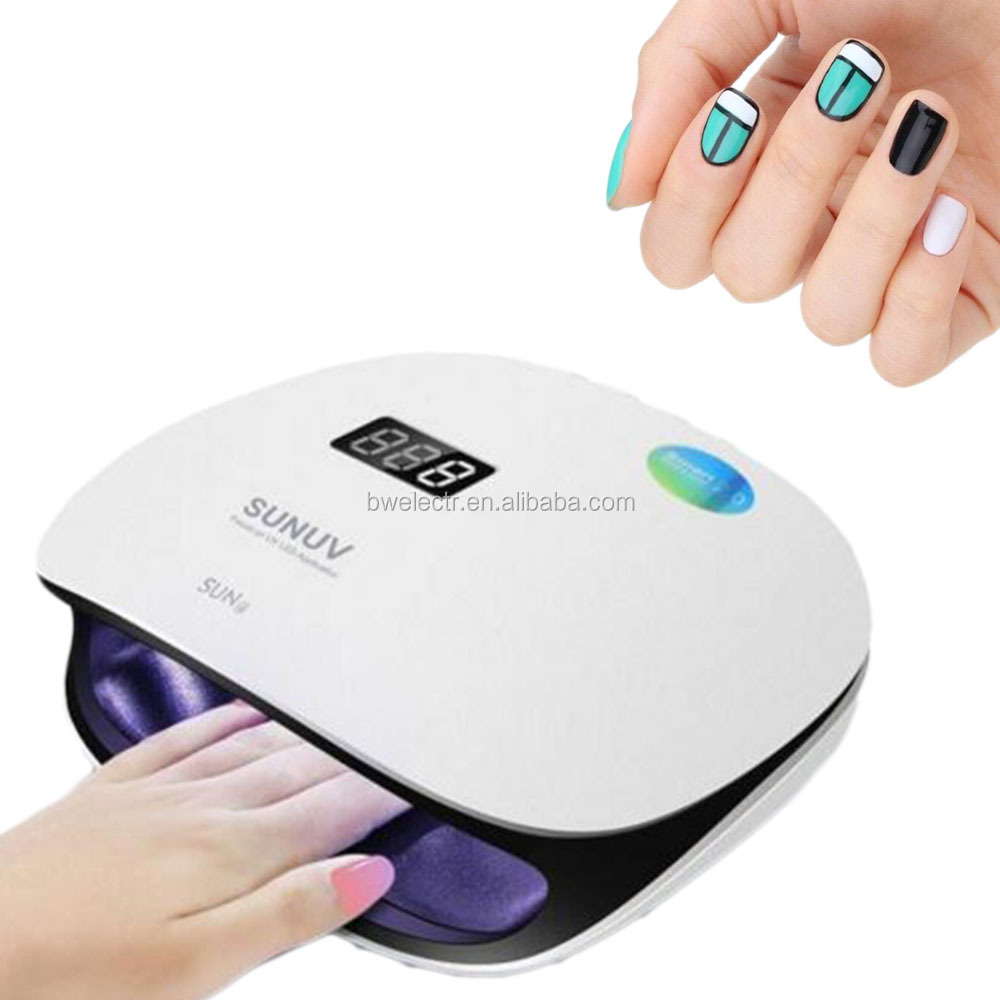 2017 new technology double light source cheap uv nail dryer with fan