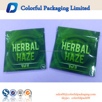 mini ziplock plastic bags for spices/aluminum foil herbal incense bag/free wholesale spice potpourri bag