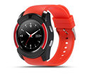 Bluetooth work android phones smart watch V8 with SIM and camera