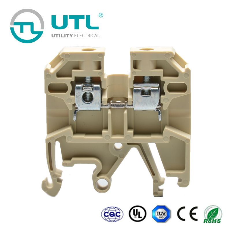 UTL <strong>Bulk</strong> Buying 800V Rated Low Voltage Electric Screw Terminal Block Connector 24A
