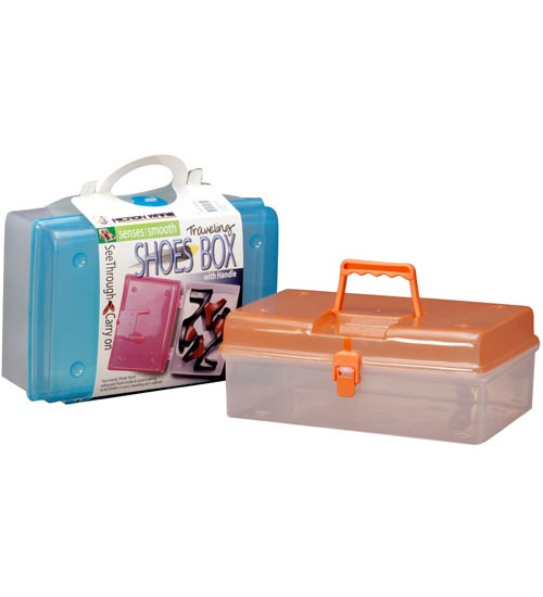 Plastic Shoe Boxes/Clear Shoe Boxes/Clear Plastic Foldable PP Shoes Box #56540000000000