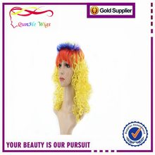 Beauty Coloured Hair Cosplay Wig Party Women Fashion Long Wavy Curly