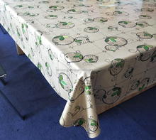 PVC Tablecloths For Rectangle Tables Dining Room Table Cloth