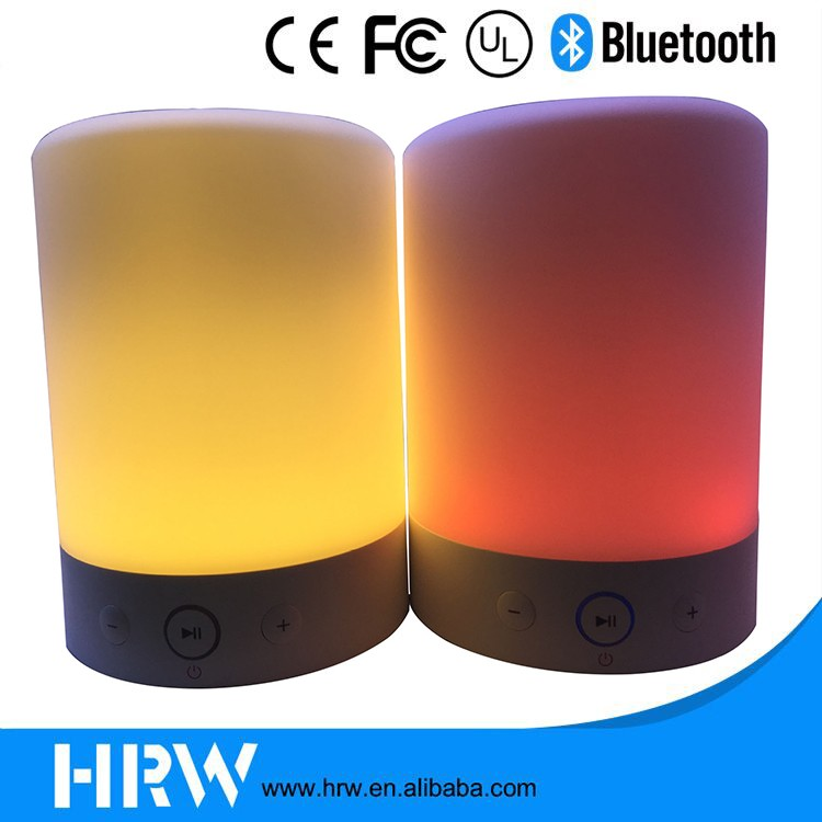 Wholesale bluetooth speaker factory led light lamp portable wireless bluetooth speaker