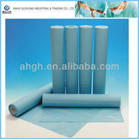 Disposable medical examination paper roll absorbent couch roll cover for hospital and SPA