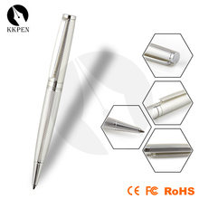 Shibell silver Latest popular metal customized ball point pen/promotional manufacturer metal ball pen/novelty items ball pen