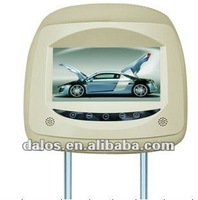 "2013 hottest 7"" car monitor / car headrest dvd player with GPS"