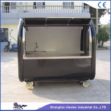 JX-FR220A customized frozen yogurt kiosk for sale multifunctional food trailer