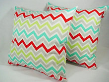 100% natural polyester stripe design pillow case washable fireproof cushion cover chevron sofa decorative throw pillow