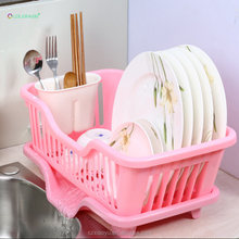 DNC001 Kitchenware Food Grade Plastic Dish Drying Rack For Put Dinnerware