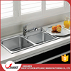 Multifunctional 304 stainless steel triangle kitchen sink one piece kitchen sink and countertop
