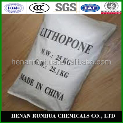 chemical formula of lithopone ZnS BaSO4 MOQ 20MT